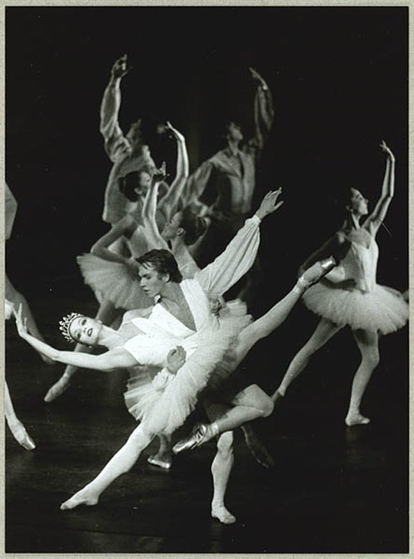 Etudes Silja Schandorff, Johan Kobborg Koreografi: Harald Lander Den Kongelige Ballet, 1995