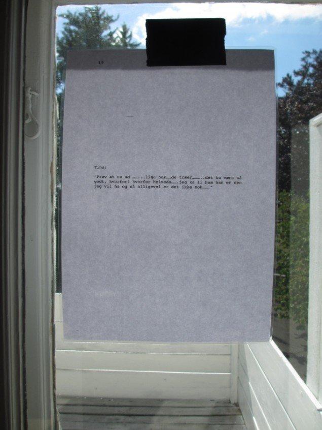 Frans Jacobi:  JEG SIGER NEJ! Jeg siger ja!. Foto: Ole Bak Jakobsen