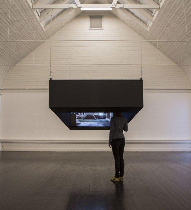 Carsten Nicolai: Future, Past, Perfect pt. 2 (Cité Radieuse), 2012. (Foto: Lior Zilberstein)