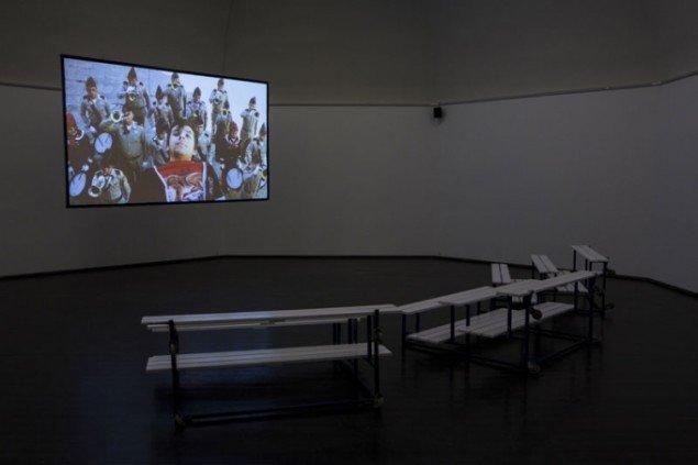 Søren Thilo Funder: Sal Paradise, 2012. installationsview (Foto: Lior Zilberstein)