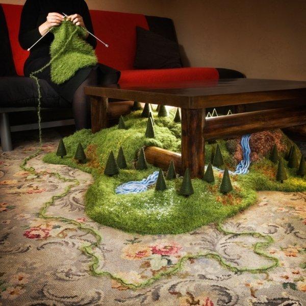 Bankleer viste blandt andet værket Dereguliert I, 2004. Foto: Barbara Katzin.
