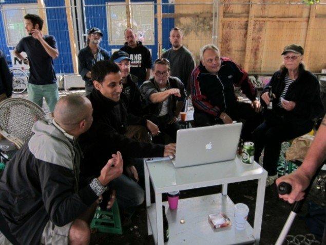 Workshop under projektet, Enghave Minipark. (Foto: Simon Mertner Vind)