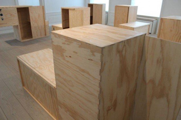 Damian Ortega: Housing Development Project, 2012 (Installation, Kunstforeningen GL STRAND)