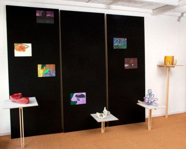 Installationsview, Per Ahlmann og Cai-Ulrich von Platen, 2012. Pressefoto