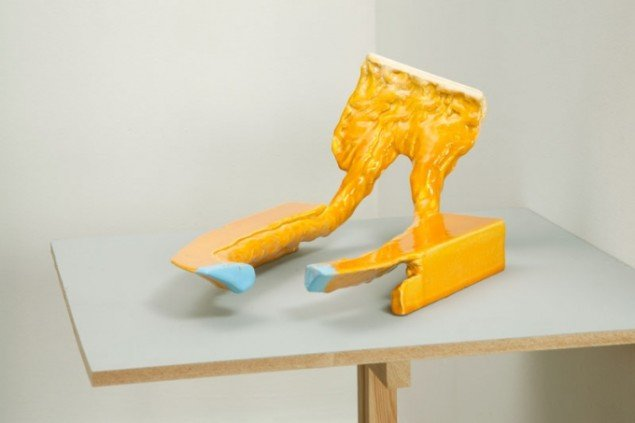 Celestial Off, Per Ahlmann, keramisk skulptur, 2012. Pressefoto