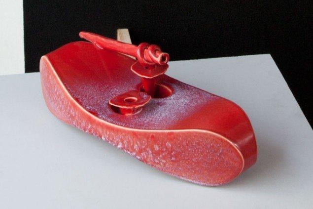 Add Pond, Per Ahlmann, keramisk skulptur, 2012. Pressefoto