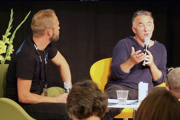 Talk: Henrik Saxgren (Foto: Carsten Nordholt)