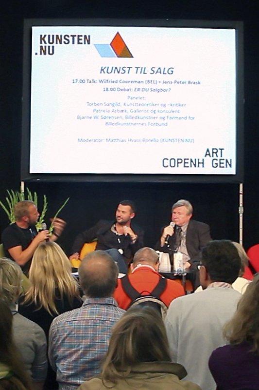 Jens-Peter Brask og Wilfried Cooreman (Foto: Carsten Nordholt)