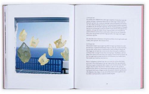 Et opslag fra bogen. Foto: Jacob Hunosøe