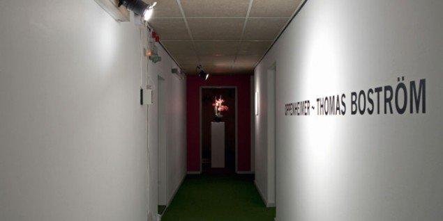 Indgangen til udstillingen. (Pressefoto)