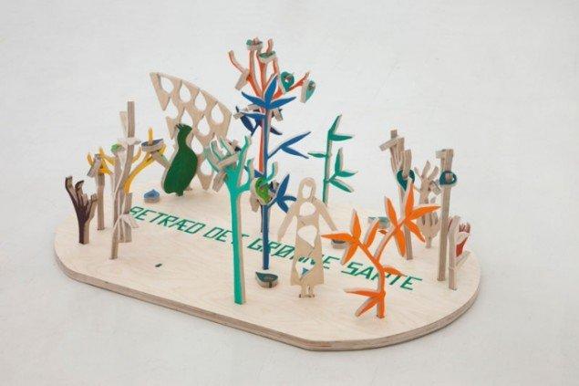 Betræd det grønne sarte, 2012, installationsfoto af værk på Galleri Lars Olsen. Foto: Erling Lykke Jeppesen