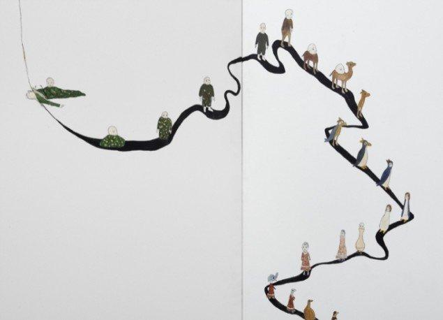Udsnit fra værket: Passage, 2010. Foto: Anders Sune Berg