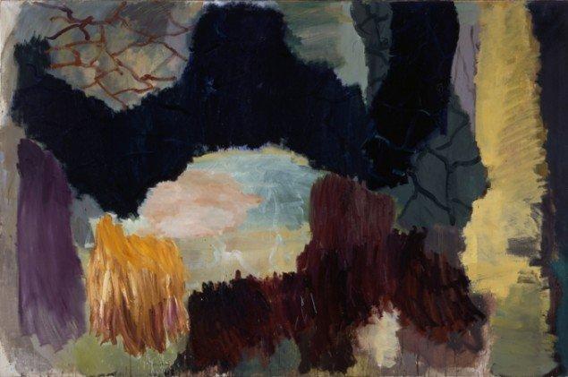Per Kirkeby: Læsø, 1992. Olie på lærred, 200 x 300 cm (© Galerie Michael Werner)