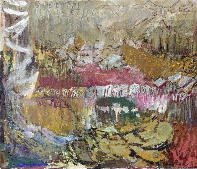 Per Kirkeby: Uden titel, 2011, Tempera på lærred, 300 x 350 cm (© Galerie Michael Werner)