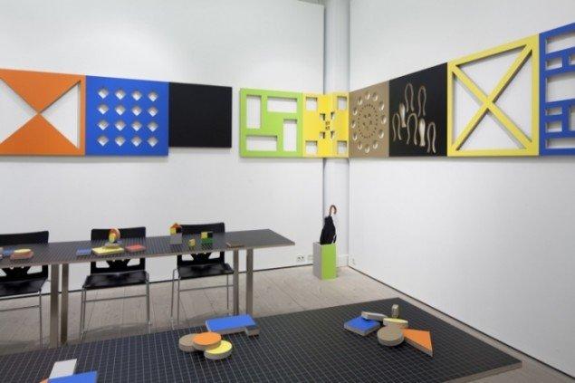 Forms of Knowledge, 2011, Gl. Strand Salen. Materialer: højtrykslaminat på krydsfiner. Foto: Anders Sune Berg.