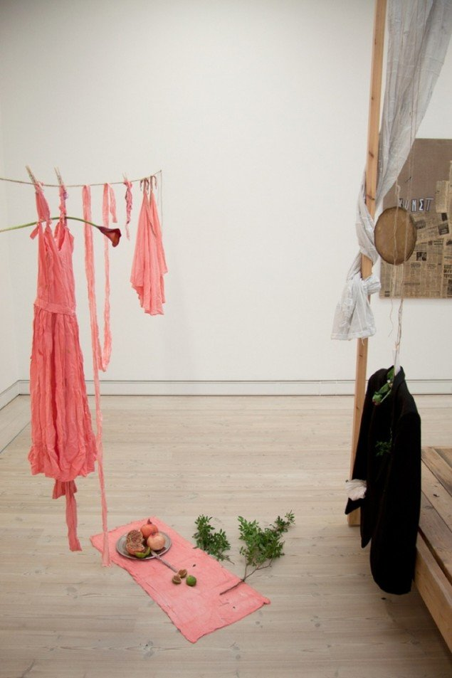 Nærbillede af Augusta Atlas installation I Am Love. Pressefoto.