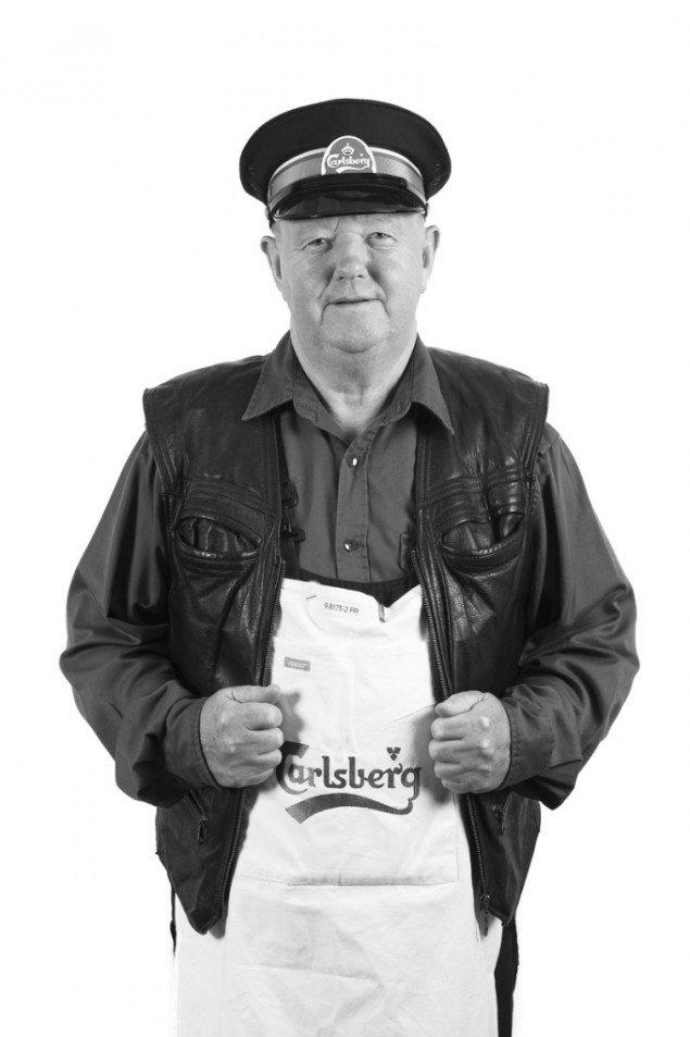 Faaborg Museum udstiller portrætter af arbejdere fra det nedlagte Carlsberg Bryggeri i Valby.  Serien Kongen af Indien og alle de andre fra Bryggeriet i Valby er fotograferet af Jeannette Pardorf.