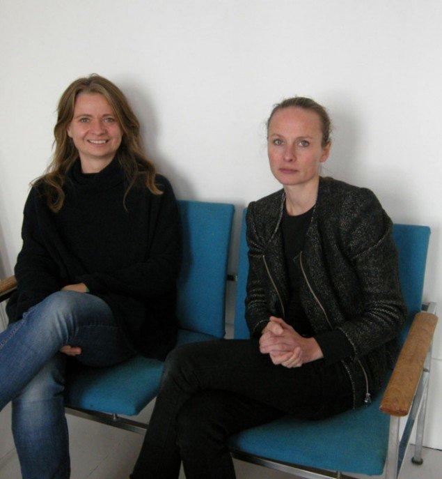 Johanne Løgstrup (tv.) og Katarina Stenbeck, der står bag Bureau Publik på Vesterbro. (Foto: Amalie Frederiksen).