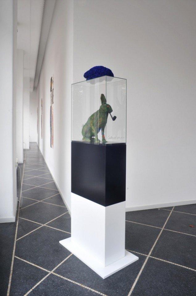 Bjørn Nørgaard: Cette Est Une Pipe, 2012. Foto: Stine Heger.