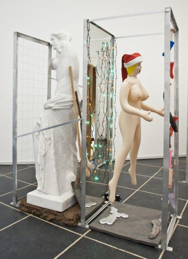 Bjørn Nørgaard: Fake - Som i et spejl, 2012. Foto: Galleri Susanne Ottesen.