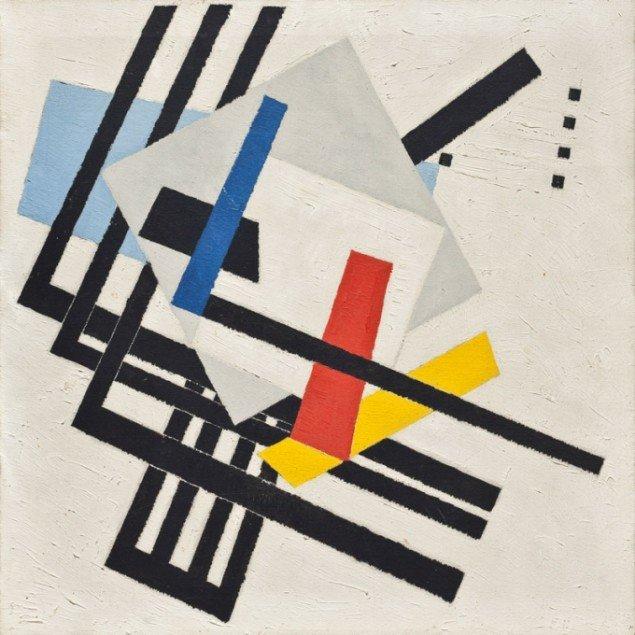 Richard Winther Dynamisk komposition, 1948 (foto: Ole Akhøj)