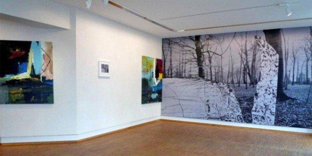 Fra udstillingen Beautiful Bridges på Galleri NB. Pressefoto