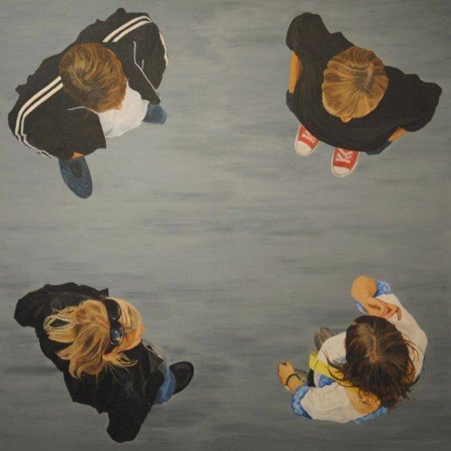 Kirsten Schauser, Relationer 1, 2011. Pressefoto.