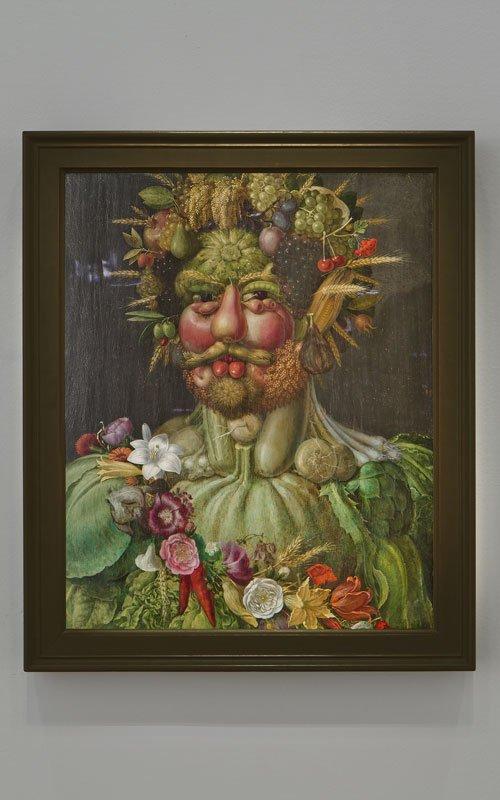 Guiseppe Arcimboldo Vertumnus, 1591. (Foto: Terje Östling)