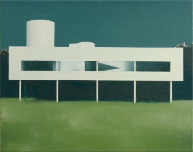 Ghost, 2012, olie på lærred, 55 x 70 cm. Pressefoto.