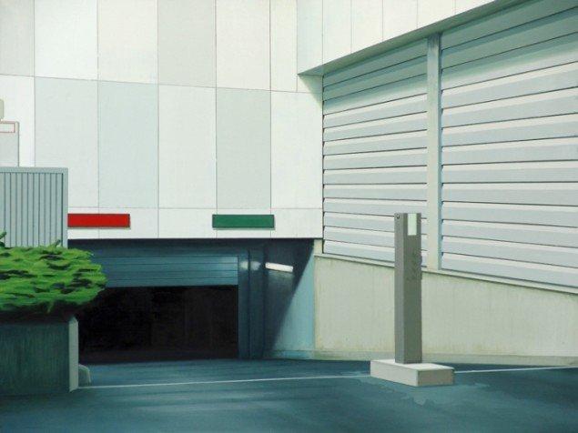 Driveway, 2007, olie på lærred, 134 x 184 cm. Pressefoto.