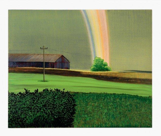My Rainbow, 2006, olie på lærred, 140 x 175 cm. Pressefoto.