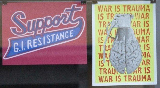 Rum46 udstiller War Is Trauma samlingen. Pressefoto