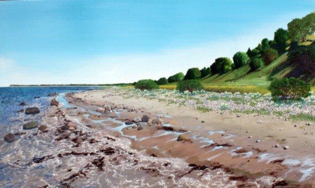Your resting place, 2011, olie på lærred, 150 x 210 cm. Pressefoto.