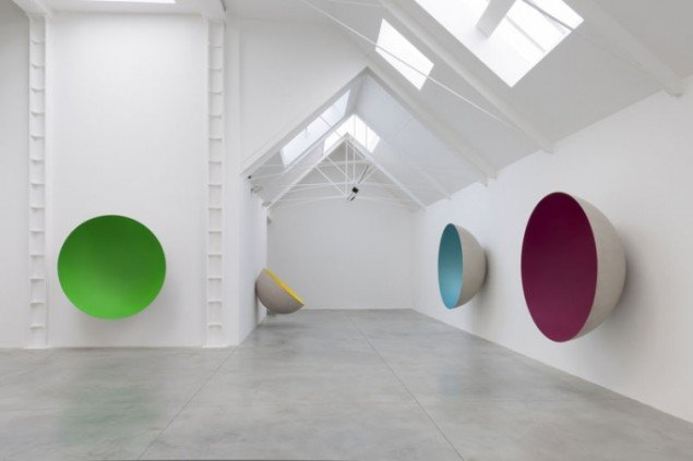 Anish Kapoor, installation view, Lisson Gallery, London 2012.