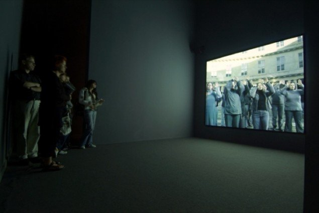 Approach, 2005, videoinstallation, Biennalen i Venedig. Pressefoto.