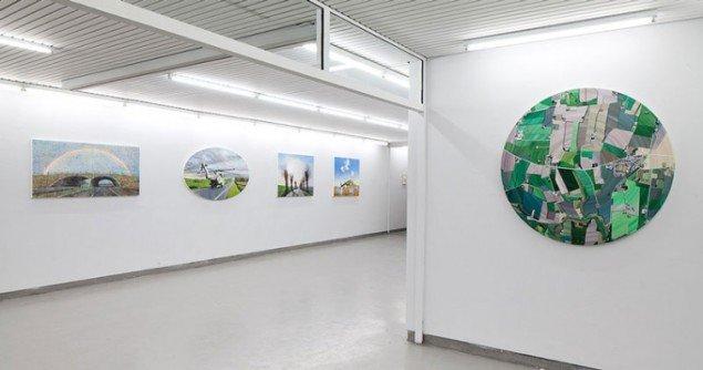Installationsview, Allan Otte: Nye strækninger. (pressefoto)