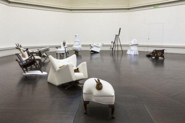 Nina Saunders, installationsviev. (Pressefoto)