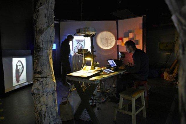 Billede fra TRANSFORM i Filmby Aarhus, november 2010. (Foto: Lina Bjørnø)