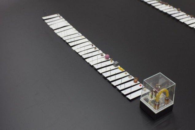 Lisbeth Bank Nielsen: 107 Materials in 5 Sculptures, 2012. Pressefoto