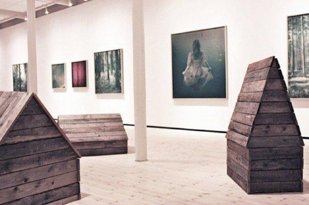 UdstillingsviewAstrid Kruse Jensen: Disapearing into the Past. Foto: Trine Rytter Andersen