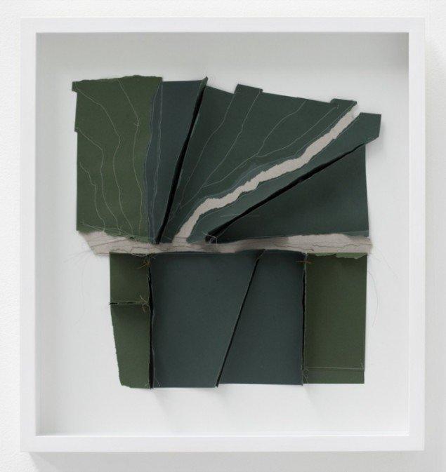 Uden titel, objekt (landskab), 2012. 55 x 55 cm. Foto: Erling Lykke Jeppesen.