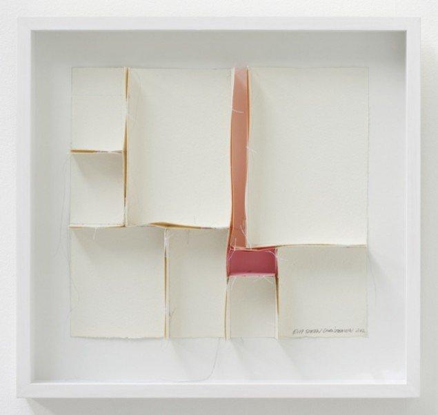 Uden titel, objekt (lyserødt værelse), 2012. 54 x 57 cm. Foto: Erling Lykke Jeppesen.