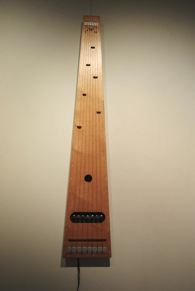 Frode Gundorf Nielsen: Strings, lydskulptur. Foto: Bente Jensen