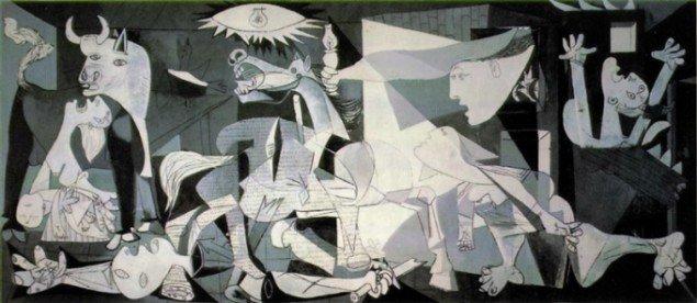 Pablo Picasso: Guernica 1937. (Foto fra pablopicasso.org)
