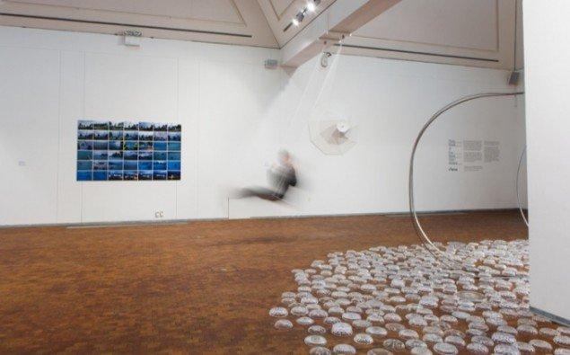 Udstillingsview fra Eva Steen Christensen og Thilo Franks udstilling. Foto: Niels Fabæk