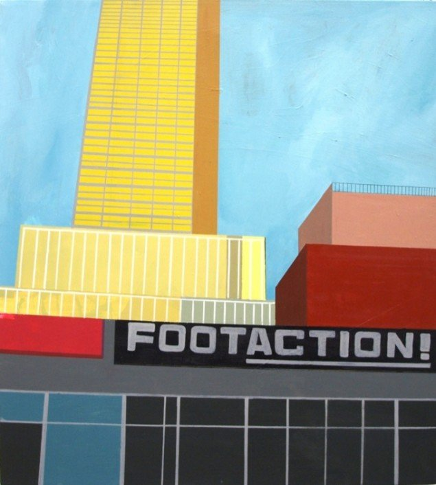 Jonna Pedersen: Footaction, New York, 2012. Pressefoto