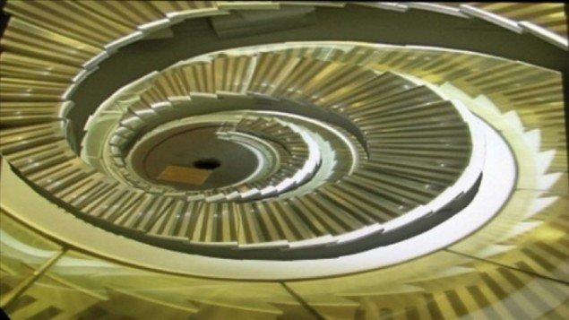 Scene for opadgående, 2007, videoloop. Courtesy: Galleri Susanne Ottesen.