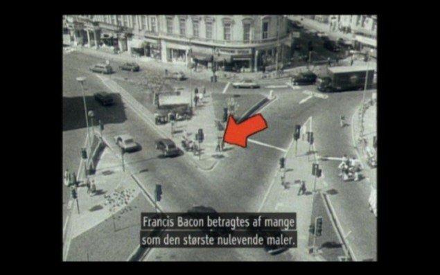 Fra dokumentarfilmen Francis Bacon. (screen grab)