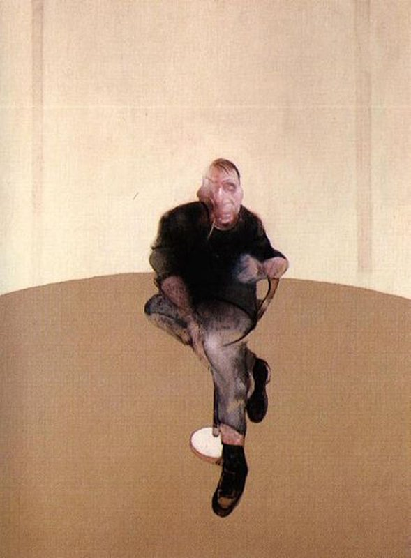 Francis Bacon: Study for a Self-Portrait Triptych, 1985–86 (Wikipedia/Fair use)