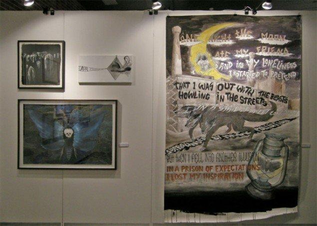 Manuel Ocampo og Silas Inoue hos SOD Gallery